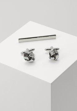 Burton Menswear London - KNOT SET - Manschettenknopf - silver-coloured
