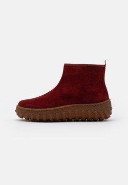 Camper - GROUND - Ankle Boot - dark red