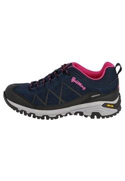 Brütting - Hikingschuh - dark blue/light pink