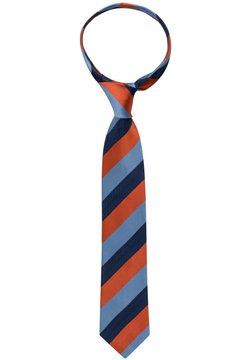 Eterna - Krawatte - terracotta/blau