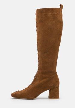 Zign - Lace-up boots - cognac