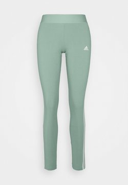 adidas Performance - Tights - haze green/white