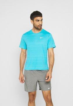 Nike Performance - MILER  - T-shirt basique - chlorine blue