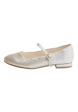 Next - SILVER/GOLD GLITTER HEELED MARY JANE SHOES (OLDER) - Ballerinat - gold