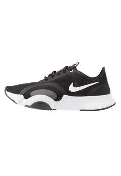 Nike Performance - SUPERREP GO - Sportschoenen - black/white/dark smoke grey