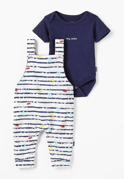 Noppies - DUNGAREE ROMPER RIFLE BABY ZGREEN - Body - patriot blue