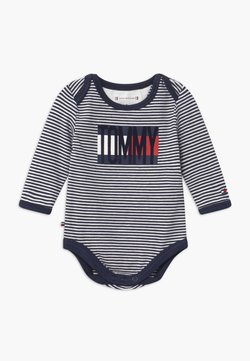 Tommy Hilfiger - BABY STRIPE - Body - blue