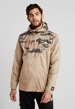 adidas Performance - TAN PISTE  - Windbreaker - olive