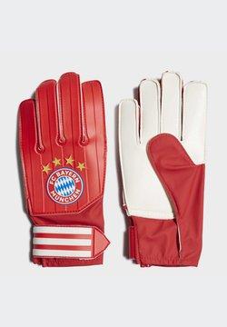 adidas Performance - FC BAYERN GOALKEEPER TRAINING GOALKEEPER GLOVES - Torwarthandschuh - red