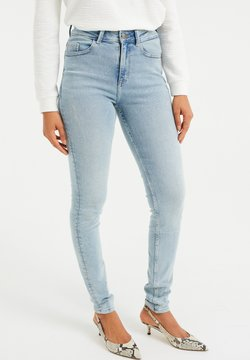 WE Fashion - HIGH RISE  - Jeans Skinny Fit - light blue