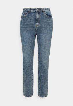 Missguided Plus - WRATH STRAIGHT LEG - Straight leg jeans - blue