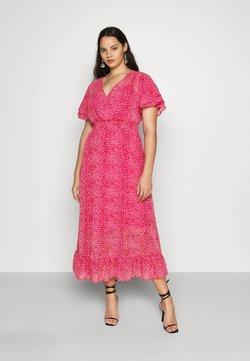 Dorothy Perkins Curve - ANIMAL DRESS - Sukienka letnia - pink