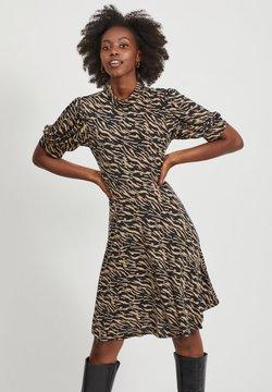 Vila - Korte jurk - brown