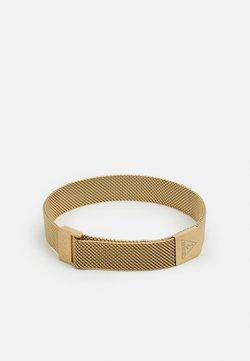 Guess - IDENTITY LOGO MAG UNISEX - Bracelet - gold-coloured