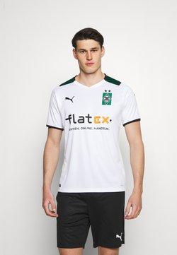 Puma - BORUSSIA MÖNCHENGLADBACH HOME REPLICA - Klubbkläder - white/power green