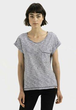 camel active - T-Shirt print - black white