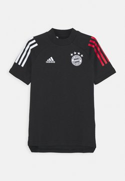 adidas Performance - FC BAYERN MUENCHEN FOOTBALL SHORT SLEEVE - Pelipaita - black/true red
