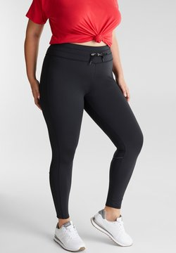 Esprit Sports - CURVY - Tights - black