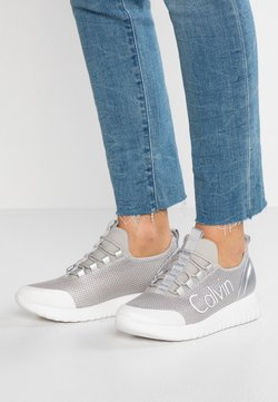 Calvin Klein Jeans - REIKA - Sneakers laag - silver/white