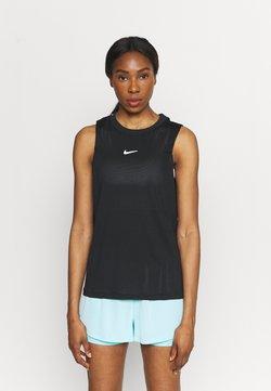 Nike Performance - TANK - Funktionsshirt - black/white