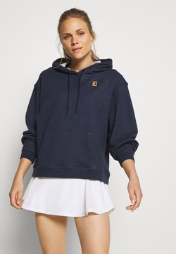 Nike Performance - HERITAGE HOODIE - Kapuzenpullover - obsidian heather/white