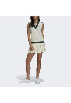 adidas Originals - TENNIS DRESS ORIGINALS - Blusenkleid - off white