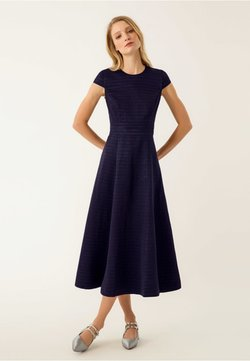 IVY & OAK - Vestido largo - navy blue