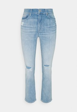 7 for all mankind - THE CROP  - Jeans a sigaretta - light blue