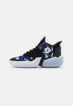 Jordan - JUMPMAN DIAMOND 2 MID - Chaussures de basket - black/racer blue/white/ice/anthracite