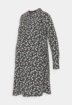 Dorothy Perkins Maternity - SHIRT DRESS - Blusenkleid - black
