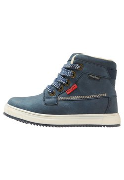 Kickers - YEPO - Bottines à lacets - navy