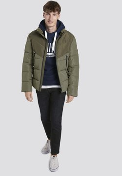 TOM TAILOR DENIM - Winterjacke - tree moss green