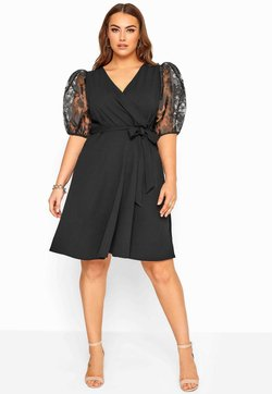 Yours Clothing - Cocktailkleid/festliches Kleid - black