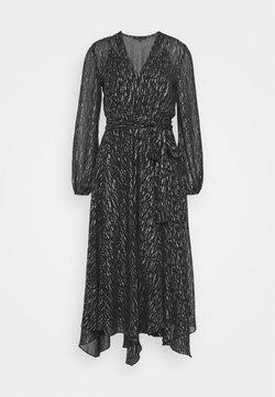maje - ROUTE - Sukienka koktajlowa - noir/argent