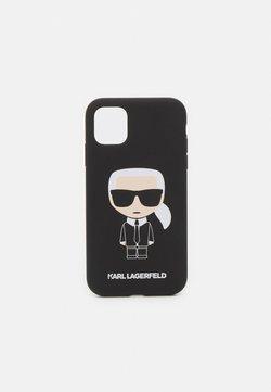 KARL LAGERFELD - IKONIK CASE IP11 - Phone case - black