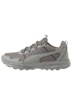 Puma - ESCALATE - Zapatillas de trail running - ultra gray/black/fizzy yellow