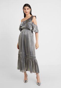 Three Floor - MOON STONE DRESS - Vestito elegante - pewter metallic