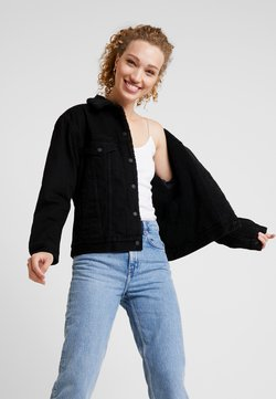 Levi's® - SHERPA TRUCKER - Veste en jean - forever black