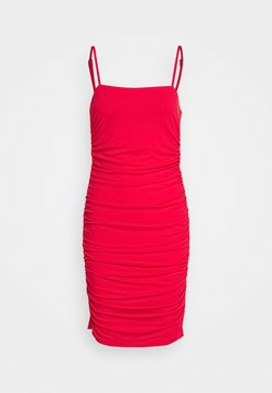 NA-KD - PAMELA REIF X NA-KD THIN STRAP DRESS - Cocktailkleid/festliches Kleid - red