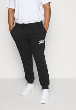 Jack & Jones - JJIGORDON JJNEWSOFT PANT - Jogginghose - black