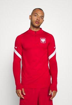Nike Performance - POLEN DRY DRIL - Nationalmannschaft - sport red/white