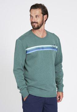 recolution - BIKESTRIPE - Sweatshirt - eukalyptus green