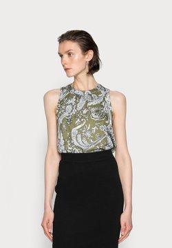 Emily van den Bergh - Bluse - khaki
