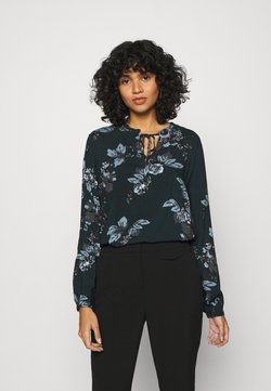 b.young - BYHENNA BLOUSE - Bluse - deep teal mix