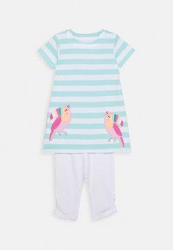 Staccato - BABY KLEID SET - Legging - mint/white