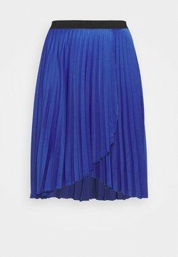 CAPSULE by Simply Be - PLEATED WRAP SKIRT - Wickelrock - blue