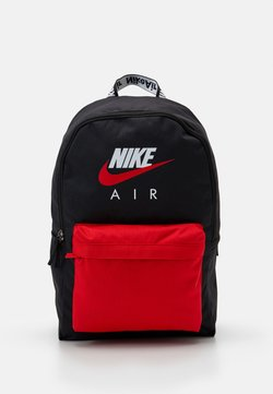 Nike Sportswear - AIR HERITAGE UNISEX - Reppu - black/university red