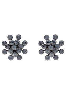 Konplott - MAGIC FIREBALL - Earrings - grau/antiksilberfarben