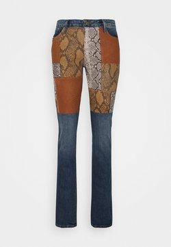 Frame Denim - LE MINI PATCHWORK SNAKE - Bootcut jeans - kenmore