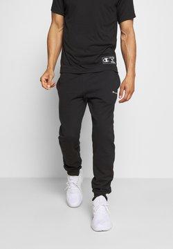 Champion - LEGACY CUFF PANTS - Verryttelyhousut - black